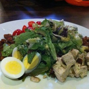 This salad has the same ingredients, but arranged differently.  Which do you prefer?  (Photo Credit:  www.yelp.com)