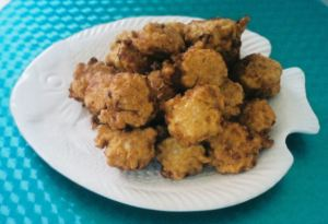 Clam Fritters are definitely the way to go if you lived in 1901 (Photo Credit:  www.food.com)