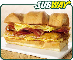 Subway has hopped on the breakfast bandwagon too (Photo Credit:  www.healthy4living.info)