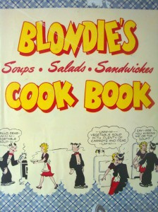 """Blondie's Cook Book"", published in 1947 (Photo by Sue Jimenez)"