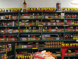 Hot sauces?  Never had any until I was in my 30's.  Now, I can't get enough of them!  (Photo Credit:  www.en.wikipedia.org)