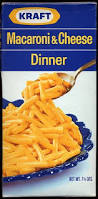 In 1972, I could buy 8 boxes of Kraft Dinner for $1.00 Canadian !  (Photo Credit:  www. pinterest.com)