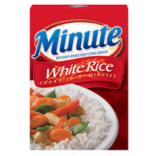 I thought Minute Rice was the only rice in the world until I left home!  (Photo Credit:  www.allyou.com)
