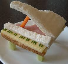 Sandwiches come in many artful forms! (Photo Credit:  www.metro.co.uk)