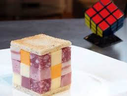 It was bound to happen...the Rubick Cube sandwich (Photo Credit:  www.foundshit.com)