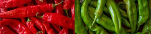 """The Official State question in New Mexico is """"red or green?"""" (Photo Credit:  www.mjskitchen.com)"""