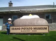 A museum in homage of the spud (Photo Credit:  rockymountainpower.net)