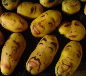 Potatoes as art (Photo Credit:  poppypetunia.blogspot.com)