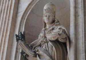 Pope Joan, the only female pope (Photo Credit:  www.freerepublic. com)