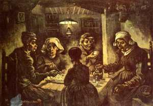 """The Potato Eaters"" by Vincent van Gogh (Photo Credit:  www.kitchenproject.com)"