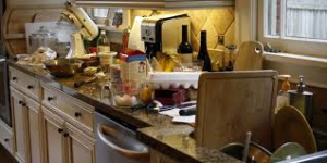 """""""Do not cook if you want a clean kitchen"""" is the old proverb.  (Photo Credit:  www.walesoncraic.com)"""