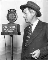Will Rogers performing one of his many radio broadcasts (Photo Credit: www.zwallpix.com)