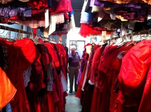 Paul Brockman collected 55,000 dresses for his wife! That's one big closet!
