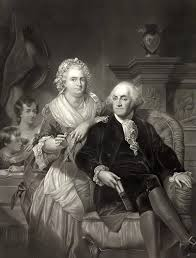 Martha and George Washington (Photo Credit: www.sonofthesouth.net)