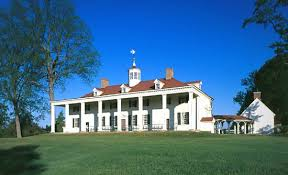 Mt. Vernon, home of George and Martha Washington (Photo Credit: www.britannica.com)
