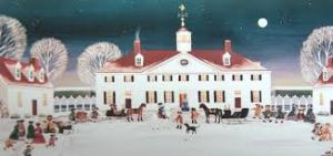 Picture of Mt. Vernon at Christmas (Photo Credit: www.shops.mountvernon.org)