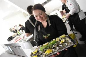 Wow. Oysters at a post-funeral reception! (Photo Credit: www.fabulouscatering.com.au)