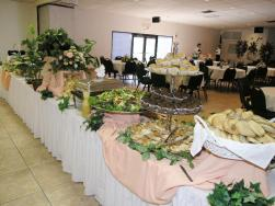 Is this a wedding or a funeral reception? (Photo Credit: www.tallon-mortuary-specialists.com)