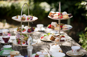 Labeled as funeral fare, this looks more like afternoon tea! (Photo Credit: www.caresfuneralcaterers.co.uk)