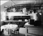 The White House Kitchen in 1901 (Photo Credit: www.npr.org)