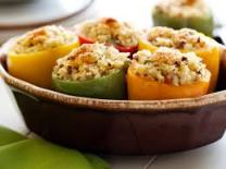 Main course with bell peppers....many choices! (Photo Credit: www.pinterest.com)