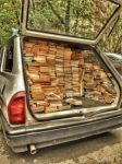 If my Saturn had been as big as this, I could have collected cookbooks even faster! (Photo Credit: www.pinterest.com)