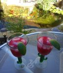 What could be better than fresh Pomegranate Margaritas on a late autumn day?