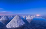 Salt piles in Bolivia (Photo Credit: gethdimage.com.blogspot)