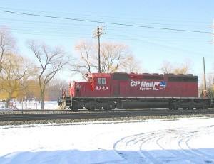 CP Rail Locomotive 5729 (Photo Credit: www.rrpicturearchives.net)