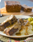 """Faux meatloaf"" (Photo Credit: www.avirtualvegan.com)"